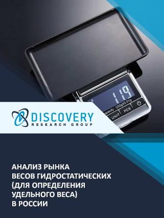 Анализ рынка весов гидростатических (для определения удельного веса) в России