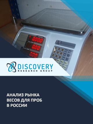 Анализ рынка весов для проб в России