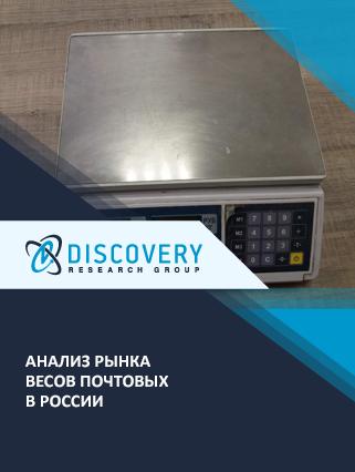 Анализ рынка весов почтовых в России