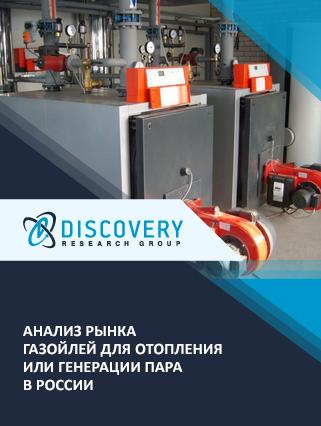 Маркетинговое исследование - Анализ рынка газойлей для отопления или генерации пара в России