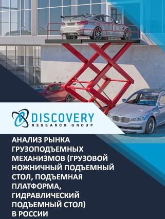 Маркетинговое исследование - Анализ рынка грузоподъемных механизмов (грузовой ножничный подъемный стол, подъемная платформа, гидравлический подъемный стол) в России