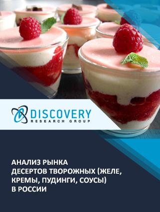 Маркетинговое исследование - Анализ рынка десертов творожных (желе, кремы, пудинги, соусы) в России