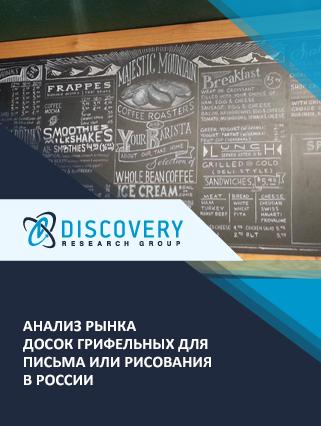 Анализ рынка досок грифельных для письма или рисования в России