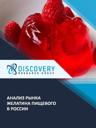 Анализ рынка желатина пищевого в России