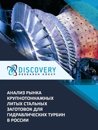 Анализ рынка крупнотоннажных литых стальных заготовок для гидравлических турбин в России