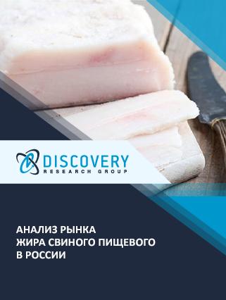 Анализ рынка жира свиного пищевого в России