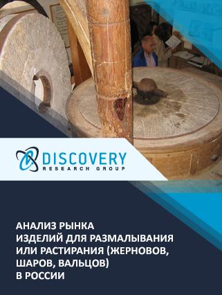 Маркетинговое исследование - Анализ рынка изделий для размалывания или растирания (жерновов, шаров, вальцов) в России