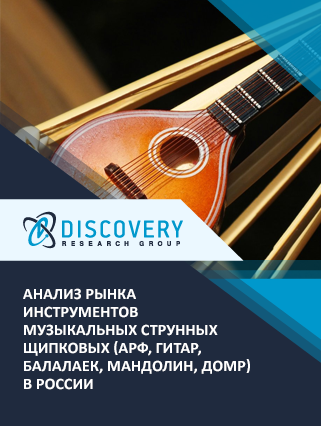 Анализ рынка инструментов музыкальных струнных щипковых (арф, гитар, балалаек, мандолин, домр) в России