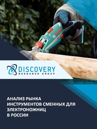 Анализ рынка инструментов сменных для электроножниц в России