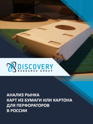 Маркетинговое исследование - Анализ рынка карт из бумаги или картона для перфораторов в России