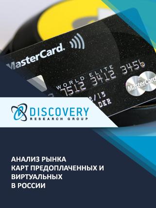 Маркетинговое исследование - Анализ рынка карт предоплаченных и виртуальных в России
