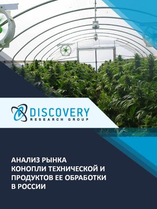 Анализ рынка конопли технической и продуктов ее обработки в России