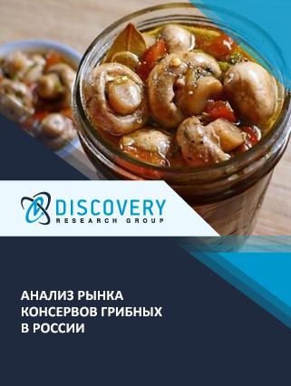 Анализ рынка консервов грибных в России