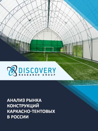 Анализ рынка каркасно-тентовых конструкций в России (с базой импорта-экспорта)