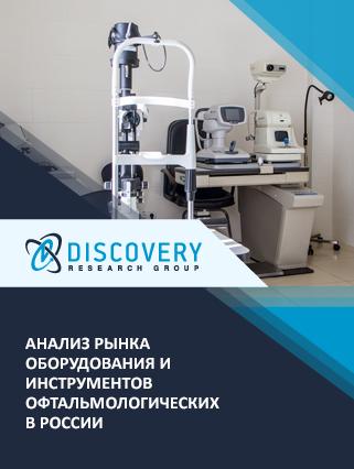 Анализ рынка оборудования и инструментов офтальмологических в России