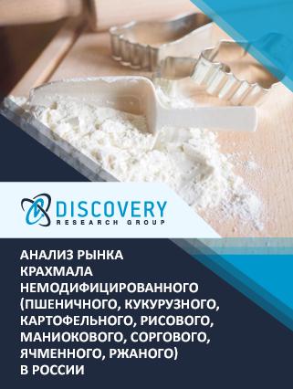 Маркетинговое исследование - Анализ рынка крахмала немодифицированного (пшеничного, кукурузного, картофельного, рисового, маниокового, соргового, ячменного, ржаного) в России