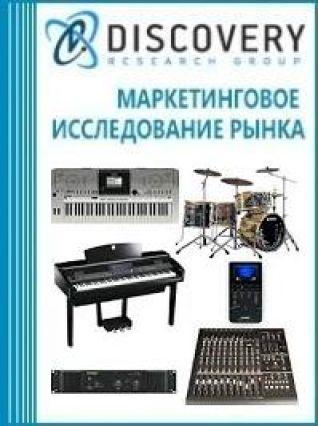Маркетинговое исследование - Анализ рынка инструментов электронных музыкальных в России