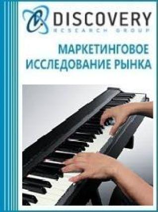 Маркетинговое исследование - Анализ рынка инструментов клавишных музыкальных в России