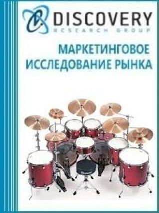 Маркетинговое исследование - Анализ рынка инструментов ударных музыкальных в России