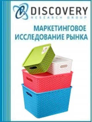 Маркетинговое исследование - Анализ рынка коробок, ящиков, корзин и аналогичных изделий из пластмасс в России