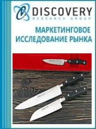 Маркетинговое исследование - Анализ рынка ножей и лезвий для кухонных приборов и машин пищевой промышленности в России