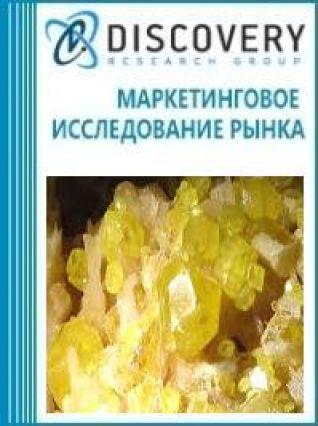 Анализ рынка серы сублимированной и осажденной в России