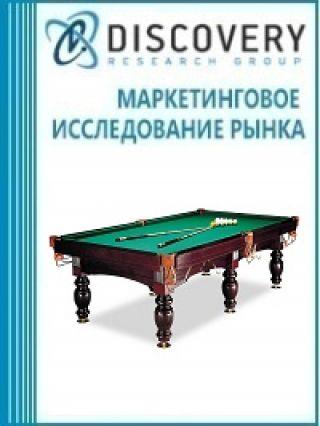 Анализ рынка столов для бильярда в России