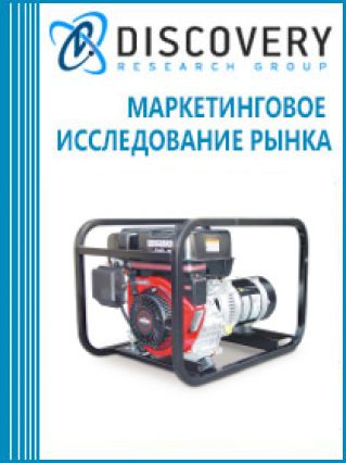 Маркетинговое исследование - Анализ рынка генераторов электроэнергии (электрогенераторов) бензиновых в России