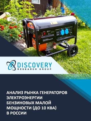 Маркетинговое исследование - Анализ рынка генераторов электроэнергии (электрогенераторов) бензиновых малой мощности (до 10 кВА) в России