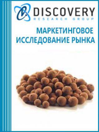 Анализ рынка керамзита в России  (с предоставлением базы импортно-экспортных операций)