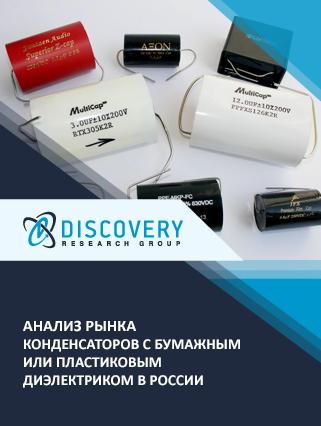 Маркетинговое исследование - Анализ рынка конденсаторов с бумажным или пластиковым диэлектриком в России (с базой импорта-экспорта)