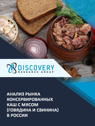 Маркетинговое исследование - Анализ рынка консервированных каш с мясом (говядина и свинина) в России (с базой импорта-экспорта)