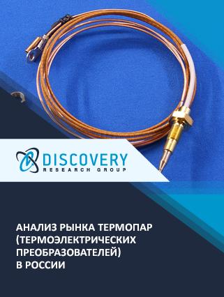 Анализ рынка термопар (термоэлектрических преобразователей) в России (с базой импорта-экспорта)