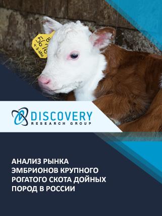 Анализ рынка эмбрионов крупного рогатого скота дойных пород в России (с базой импорта-экспорта)